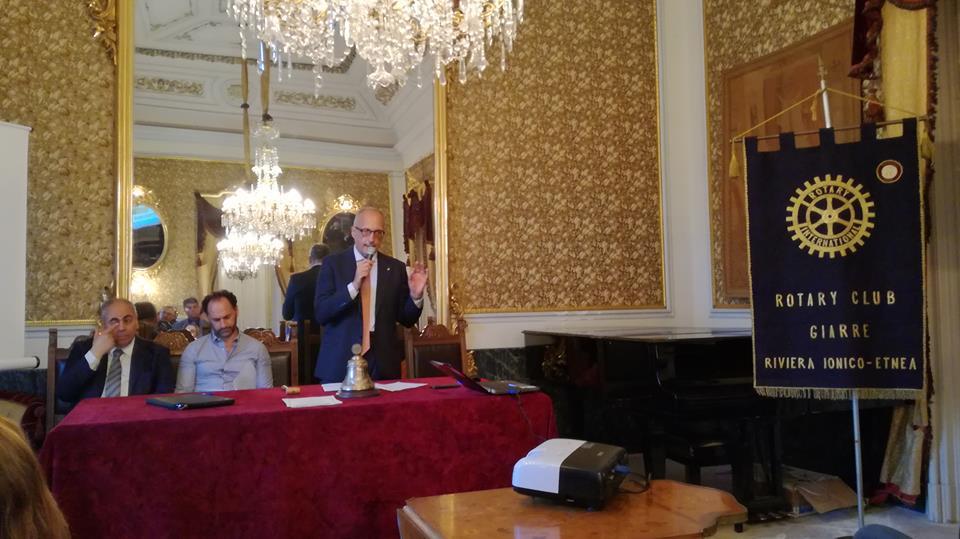 Giarre Al Meteo E Al Verde Ci Pensa Il Rotary Sicilia Network